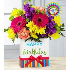 Bouquet di compleanno brights (buono)
