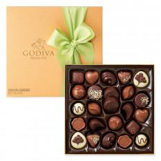 Godiva Spring Gold Box, 24 pezzi