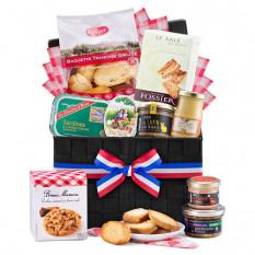 Cestino da picnic gourmet francese