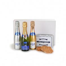 Pommery Champagne Trio e Jules Destrooper