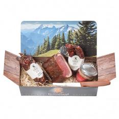 Confezione regalo salsiccia di Natale Bergwild Heimatland