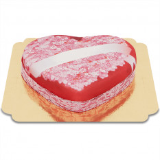 Cakes Amour Heart Message (Medio)