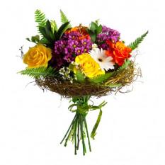 Bouquet di fiori stagionali misti