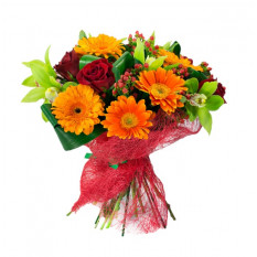 Bouquet Of Bright Flowers (Refined)