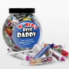 Barattolo personalizzato per la festa del papà