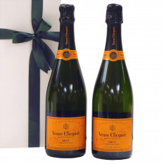 Champagne Duo Veuve Clicquot in regalo