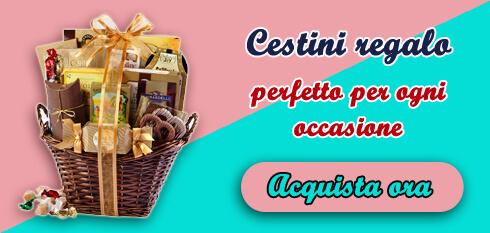 Consegna cesto regalo Italia