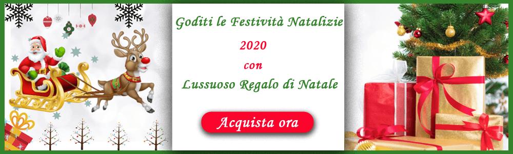 Consegna regali di Natale in Italia